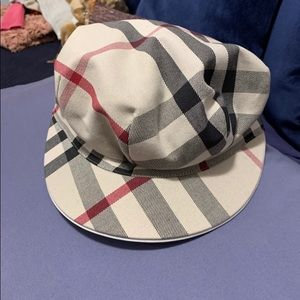 Authentic Burberry Conductor Hat